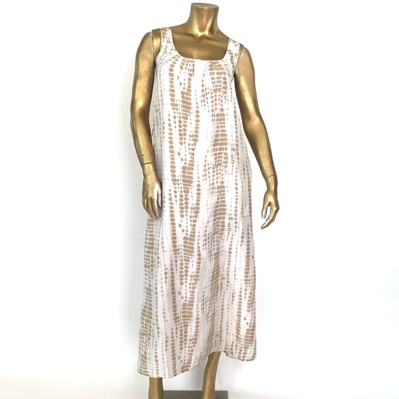 Michael Kors Dresses & Skirts - MICHAEL MICHAEL KORS SILK TIE-DYE MAXI DRESS XS